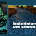 Light Emitting Cement for Smart Construction
